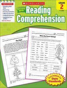 Reading Comprehension Grade 2 activity book
