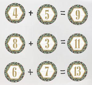 Circle Math Decorative Aids
