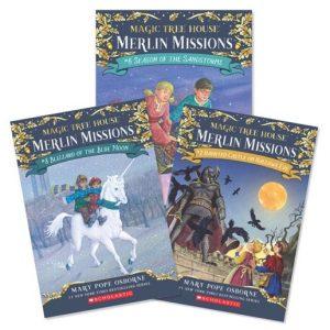 Merlin Mission series books