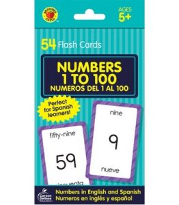 54 Flash Cards Number 1 to 100