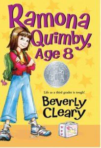 Ramona Quimby, Age 8 Book