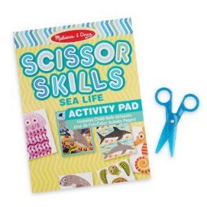 Scissor Skills Activity Book - Sea Life