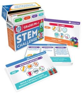 Pk-1 Stem Challenge cards